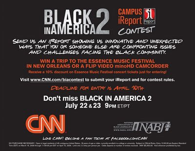 CNN 'Black in America 2' iReport Contest