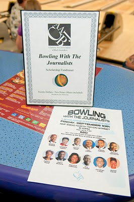 Journalists Bowled for Great Cause
