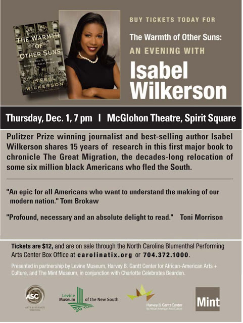 An Evening with Isabel Wilkerson – December 1