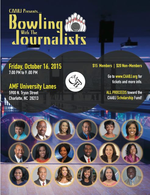 It's BACK!!! Bowling with the Journalists (Fall Edition)