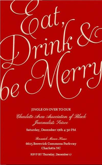 "CAABJ ""Eat, Drink and Be Merry"" Holiday Soiree"