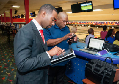 CAABJ Bowling With The Journalist @ AMF 7-17-15